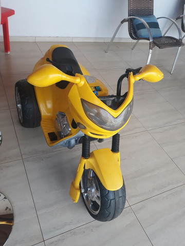 Vendo ou troco Moto triciclo elétrico