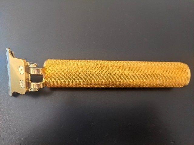 Barbeador Profissional  T9 Vintage - Gold Lisa - Foto 4