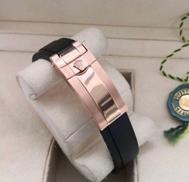 Relógio masculino Modelo Rolex Yacht-Master Premium AAA - Foto 4