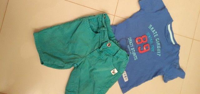 Lote de roupas e calçados menino 2 anos  - Foto 6