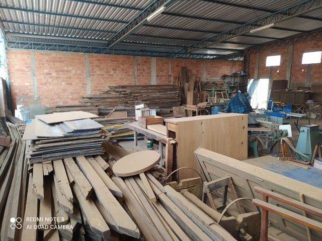 Marcenaria completa mais madeiras