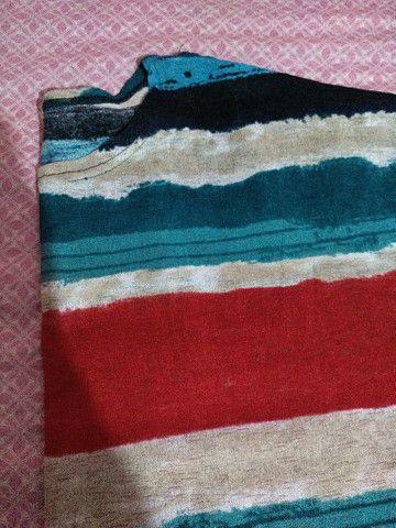 Blusa Colorida GG - Foto 3