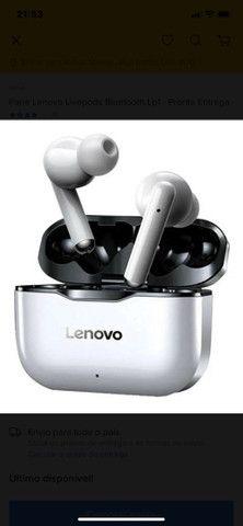 Fone de Ouvido Lenovo FoneLivepods Lp1 Com Redução Ruído