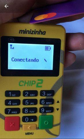 Minizinhas Chip e Wifi. Não precisa de celular. Máquinas de cartão novas-lacradas  - Foto 4