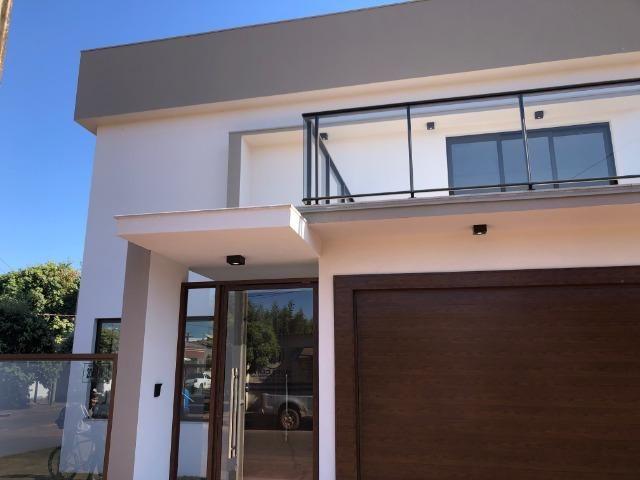 Sobrado 200 m2, acabamento Top, 03 Suítes, em Tangará, aceito carro, terrenos, casa menor - Foto 16