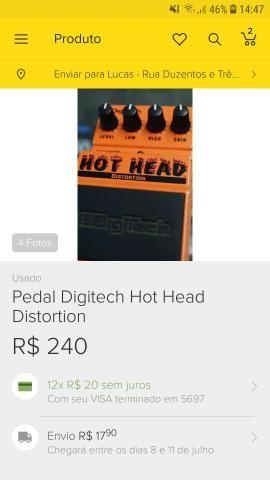 Guitarra ibanez + pedal hot head - Foto 3