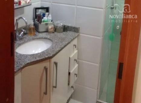 Apartamento com 3 dormitórios à venda, 78 m² por R$ 340.000 - Jardim Camburi - Vitória/ES - Foto 17