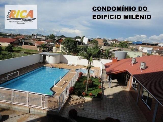Apto no Condomínio Milênio em Ji-Paraná a venda