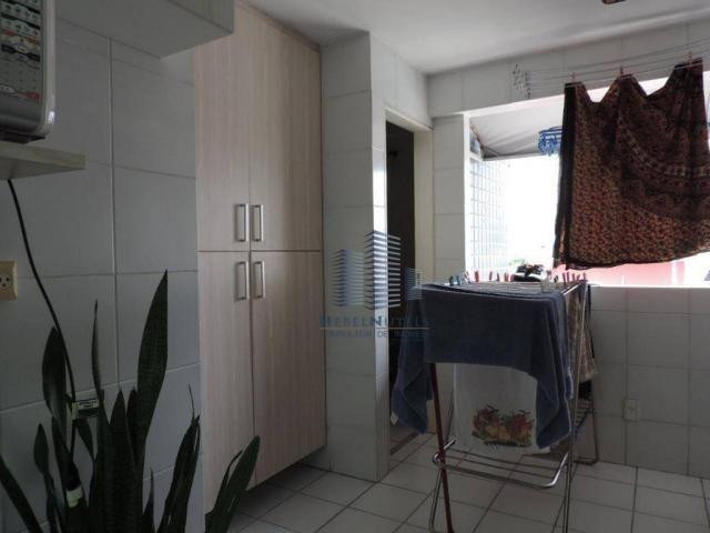 Apartamento com 4 dormitórios à venda, 133 m² por R$ 750.000 - Jatiúca - Maceió/AL - Foto 14