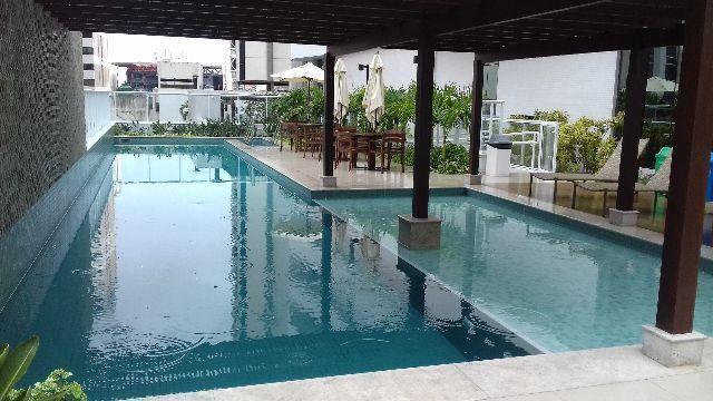 Apartamento com 1 dormitório à venda, 44 m² por r$ 350.000 - caminho das árvores - salvado - Foto 14