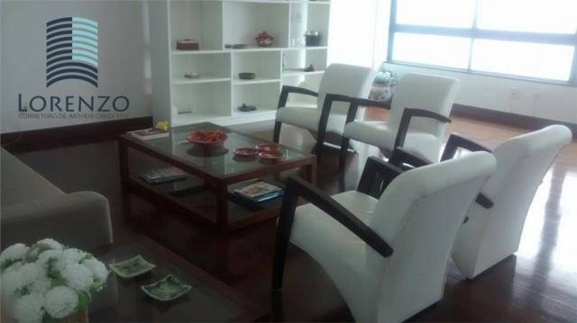 Ondina Apart - Apartamento com 3 dormitórios para alugar, 120 m² por R$ 3.024/mês - Ondina - Foto 4