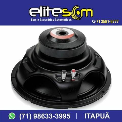 Subwoofer Nar Áudio, 200 Wrms, 10pol. instalado na Elite Som - Foto 2