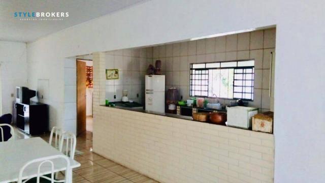 Chácara na Beira de Rio com 4 dormitórios à venda, 3600 m² por R$ 260.000 - Zona Rural - S - Foto 14
