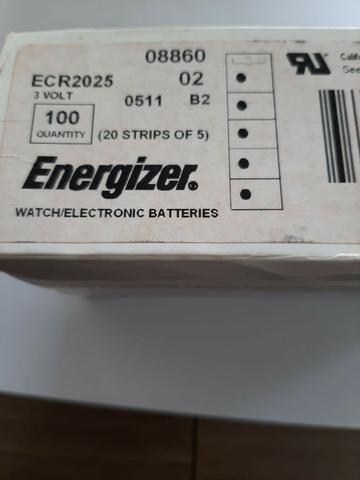 Caixa com 100 baterias cr2032 ou cr2025 - Foto 5
