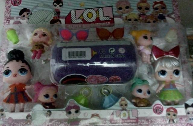 Lol com 6 bonecas