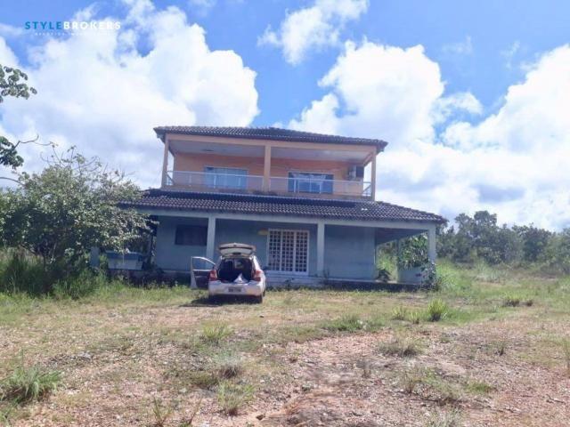 Chácara No Paraíso do Manso com 5 dormitórios à venda, 27176 m² por R$ 500.000 - Zona Rura