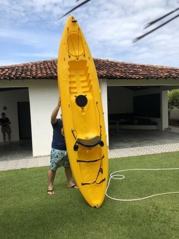 Vendo Caiaque Barracuda junto com vela! - Foto 2