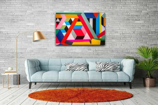 Quadros Decorativos canvas Abstratos e mais de 5 mil imagens - Foto 5