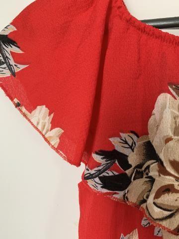 Vestido midi ciganinha - BARATO P VENDER LOGO - Foto 3