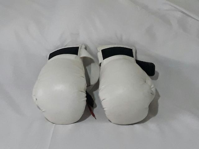 Luva de box branca profissional - Foto 2