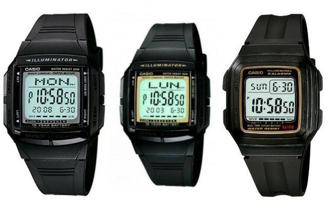 Relógio Casio 50 metros a prova d'água. Valor: 140,00 reais cada. 100% Originais