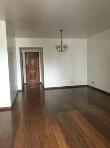 Excelente Apartamento 130m² Vaga de Garagem e Dependência Completa Rua Dna Delfina Tijuca - Foto 2
