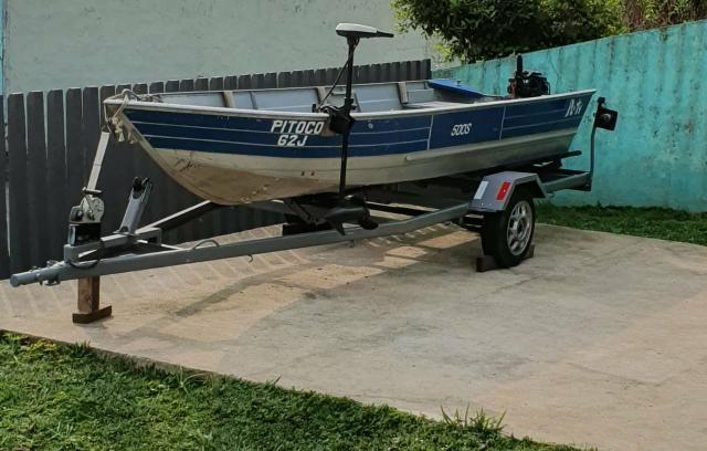Barco Petty 500s com Carretinha