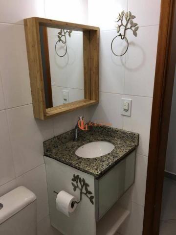 Cobertura com 3 dormitórios para alugar, 71 m² por r$ 2.200/mês - vila humaitá - santo and - Foto 8