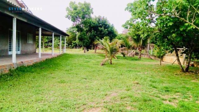 Chácara na Beira de Rio com 4 dormitórios à venda, 3600 m² por R$ 260.000 - Zona Rural - S - Foto 9