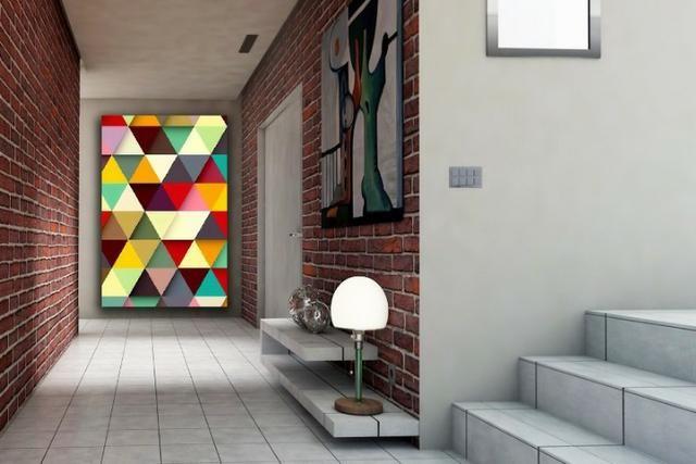 Quadros Decorativos canvas Abstratos e mais de 5 mil imagens