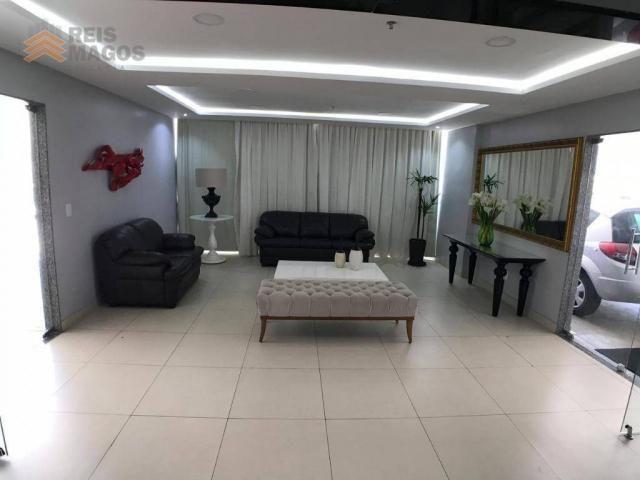 Apartamento com 2 dormitórios para alugar, 57 m² por R$ 1.600/mês - Tirol - Natal/RN - Foto 9