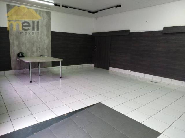 Salão para alugar, 122 m² por R$ 900,00/mês - Vila Marcondes - Presidente Prudente/SP - Foto 2
