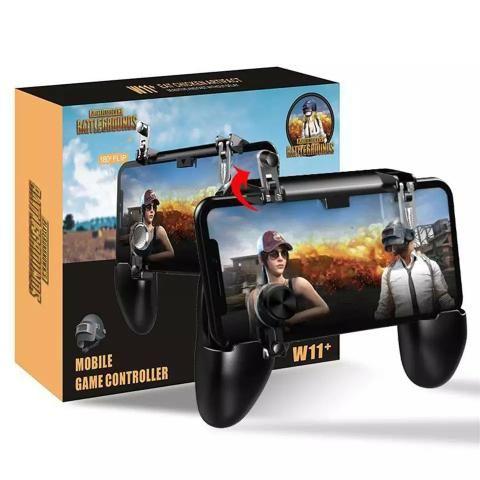 Suporte gamepad Joystick 3em 1 para Celular W11+