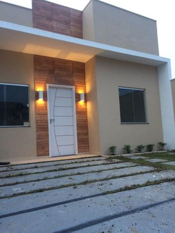Vendo casa em condomínio fechado próximo a BR 316, 3 quartos