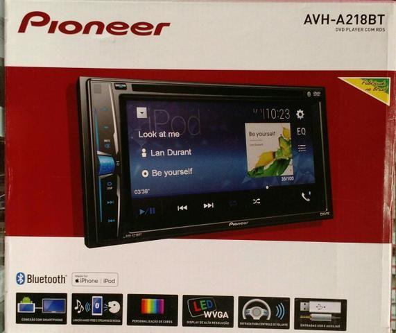 Central Multimidia Pioneer AVH A218BT Novo 1 Ano de Garantia