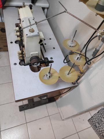 Vendo máquina base plana mansão - Foto 4