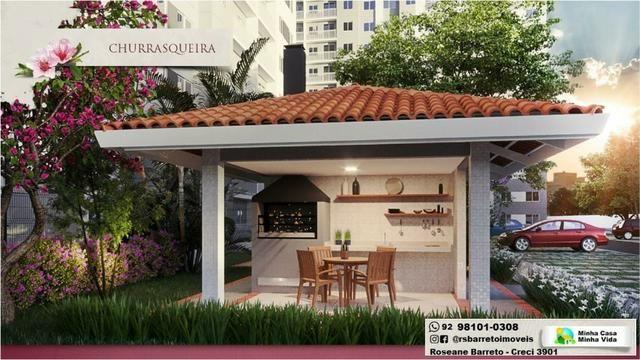 Jardim das Cerejeiras - Apartamento com varanda no parque 10 - Foto 6