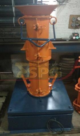 Conjunto vibratório para fabricar tubos manilhas de concreto - Foto 3
