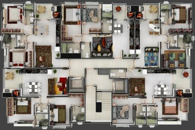 02 Dormitórios em Itapema - SC 80x - Foto 11