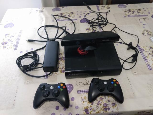 Xbox 360 + 12 jogos - Foto 2