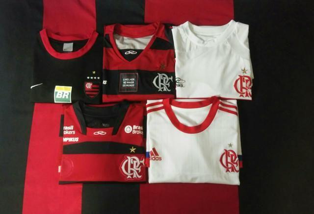 a23848bfa18aa Lote de Camisas do Flamengo - Esportes e ginástica - Gávea
