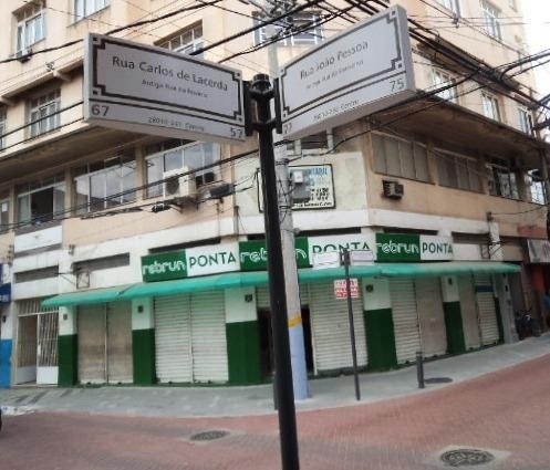 Loja de Esquina na Rua João Pessoa - Centro