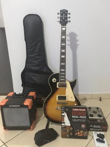 Guitarra Strinberg mais kit completo