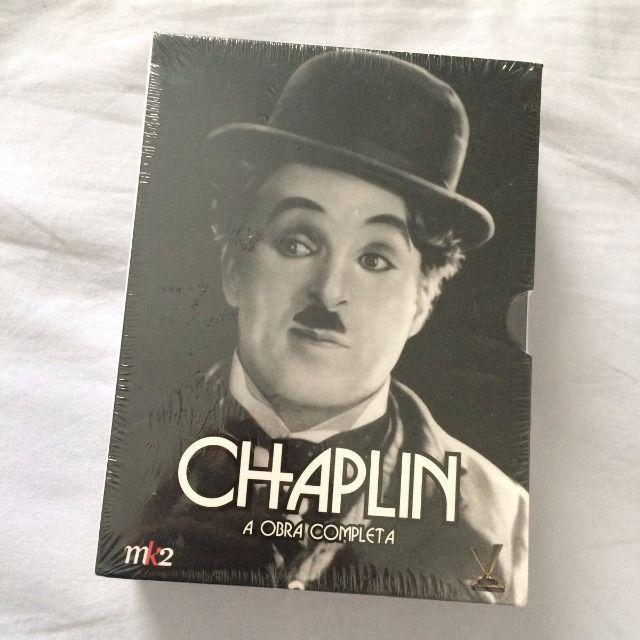 Box Dvd Chaplin - A Obra Completa - 20 discos