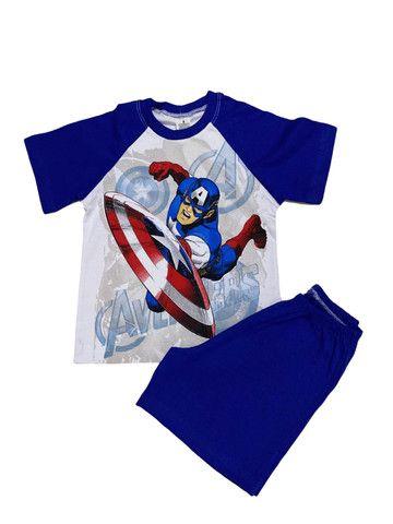 Pijama Infantil Capitão América - Calor