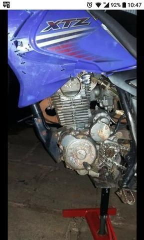 XTZ com motor OHC 200cc - Foto 9