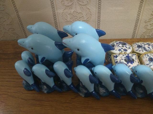 26 Mini enfeites de ceramica - Foto 3