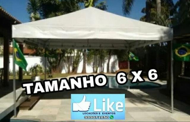 Locação de tendas/ promoção, diárias à partir de r$100,00 - Foto 3