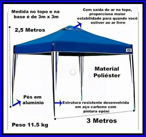 Locação de tendas/ promoção, diárias à partir de r$100,00 - Foto 5