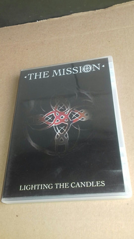 DVD THE MISSION... LIGHTING THE CANDLESS